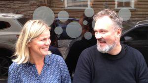 Marthornas hushållsrådgivare Elisabeth Eriksson följde med hur det gick för skådespelaren Max Bremer då han skulle leva en vecka på skåpmat.