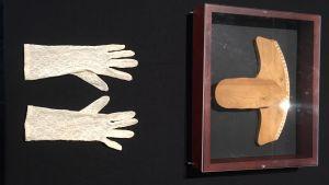 Psykograf som tillhörde Mathilda Gallen finns med i utställningen Själens öga på Gallen-Kallela-museet.