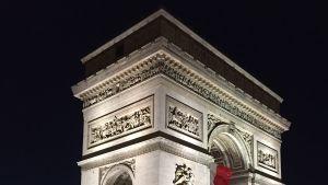 Triumfbågen i Paris.