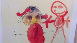 målning av Emil