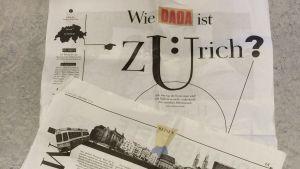 Hur mycket dada är Zürich? (Die Zeit 4.5.2016)