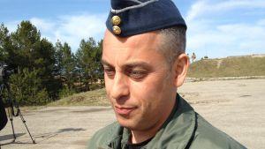 Major Dimitrios Koukaras som arbetar för Nato-organet AIRCOM.