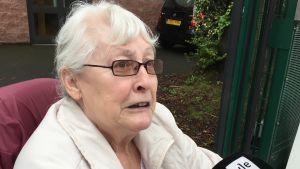 Patricia vill att Storbritannien lämnar EU.