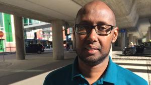 Arshe Said, ordförande för somaliska förbundet i Finland, ser fram emot id al-fitr.