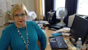 Tarja Mankkinen, Inrikesministeriets chef för sekretariatet för den inre säkerheten.