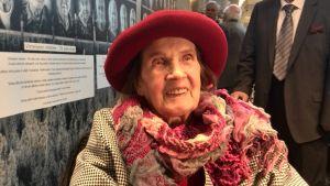 98 åriga Sylvi Lano var lotta under krigen.
