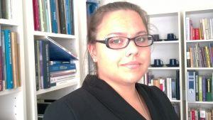 Krista Vierimaa har gjort sin avhandling i brottsrätt  vid Lapin Yliopisto 2012