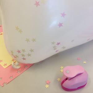 konfetti i ballong