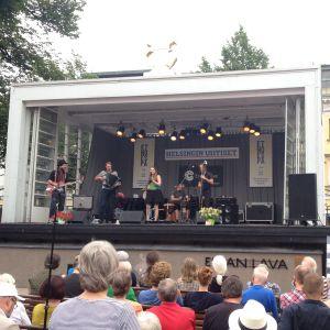 No-One's Land stod på scen under en av festivaldagarna.