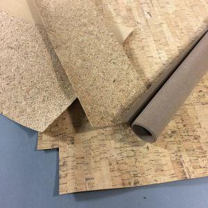 Korktyg och pappersläder