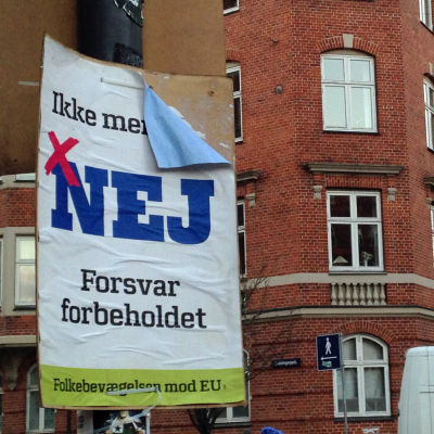 Valaffish inför folkomröstning i Danmark 3.12.2015.