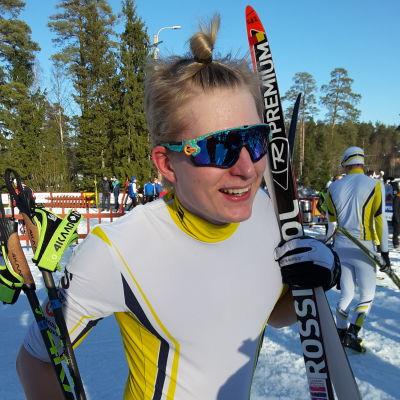 Remi Lindholm är glad