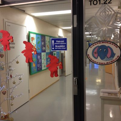 Barnavdelningen på Borgå sjukhus