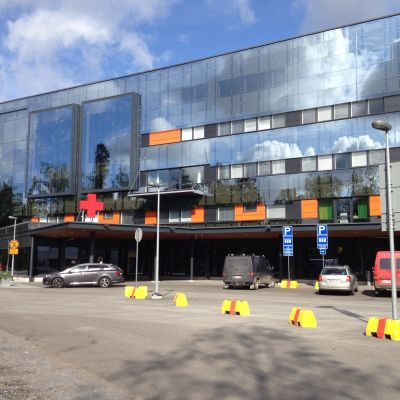 Akuten vid Vasa centralsjukhus.