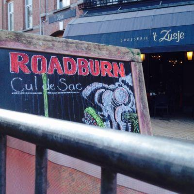 Liiduilla kylttiin kirjoitettu festivaali roadburn