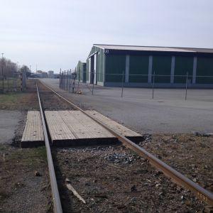 Järnvägen i Kaskö