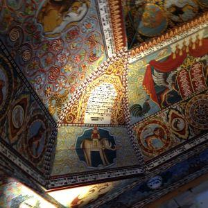 polin yksityiskohta vanhasta synagogasta
