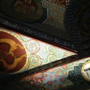 polin vanhan synagogan kattoa