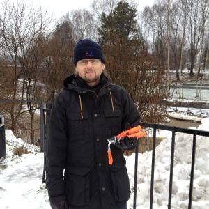 Marcus Wikström representerar fritidsfiskarna