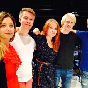 RSO:ssa harjoittelussa olevat Sibelius-Akatemian opiskelijat