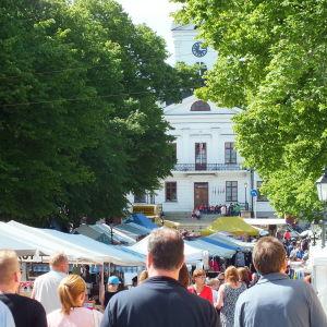 Sommarmarknaden i Kristinestad