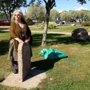 Sten avtäcktes i Lovisa