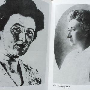 Foto av sidor i Annalies Laschitzas bok om Luxemburg