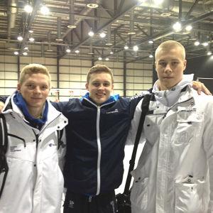 Gymnaster i Glasgow.