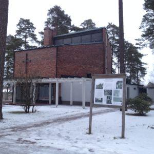 Krematoriet i Karis.