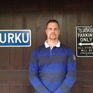 Tommi Turku älskar Saab