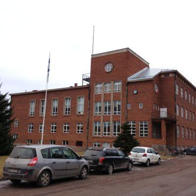 skolhus i tegel