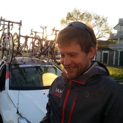 Sportdirektör Kjell Carlström, IAM-cycling