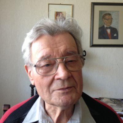 krigsveterranen Holger Strandberg, porträtt