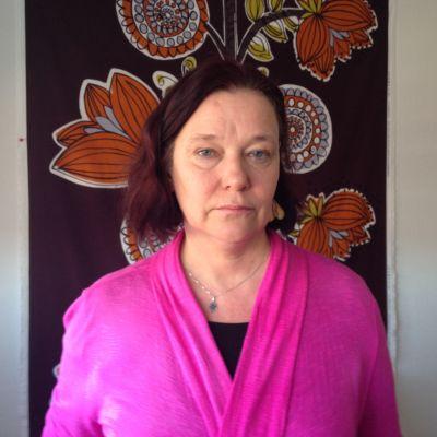 Socialarbetare Monika Poussauner