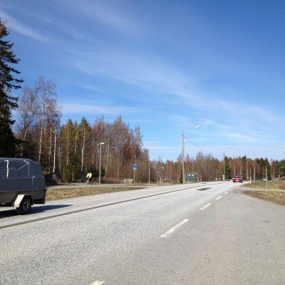 Strandvägen i Larsmo