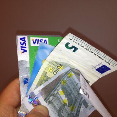 Pengar och bonuskort