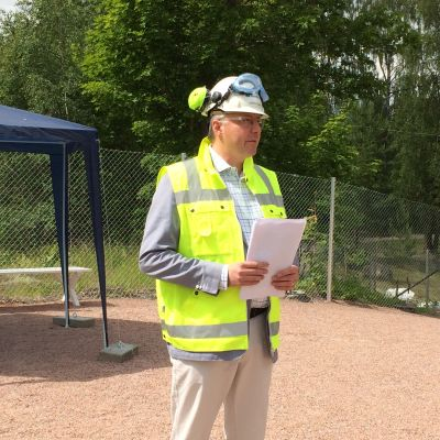 Nordkalks divisionschef Jarkko Kaplin.