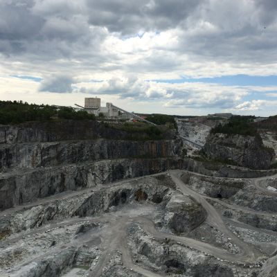 Kalkgruvan i Pargas.
