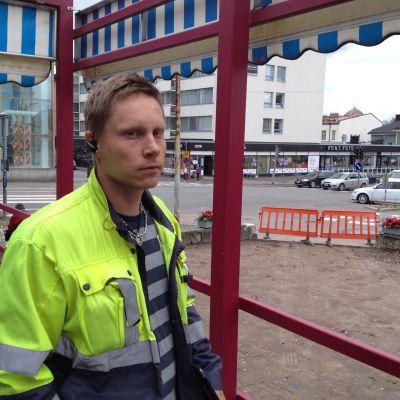 Borgå stads gatubyggnadschef Juha Valkonen