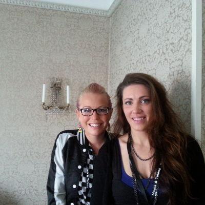 Vicky Österberg och Linnèa Carrell på Musik & Talang