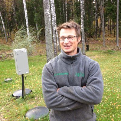 Johan Lönnfors har modern avloppsrening