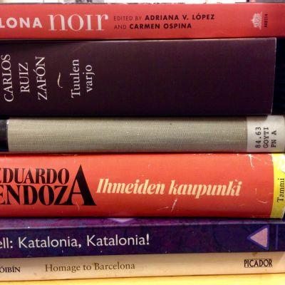 Kirjoja Barcelonasta