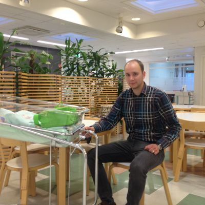 Mats Eklund på BB i Karleby