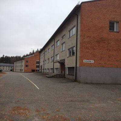 Kaserner på brigadområdet i Kontioranta, Kontiolax