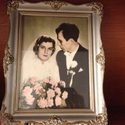 Carita och Erik har varit gifta i 56 år år 2014