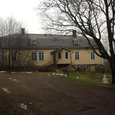 Näse gårds huvudbyggnad i Borgå