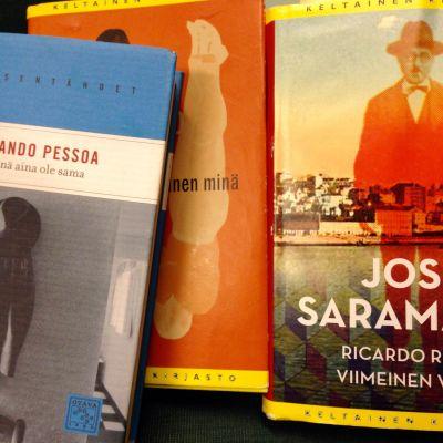 Saramagon ja Pessoan kirjoja