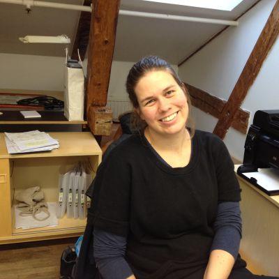 Hanna Åkerfelt, verksamhetsledare på Labbet