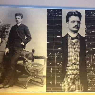 Jean Sibelius på utställningen Din tillgivne