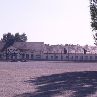 Koncentrationslägret KZ Dachau utanför München, Tyskland.